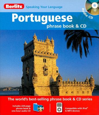Berlitz Portuguese Phrase Book & CD [With Phrase Book] 9789812681942