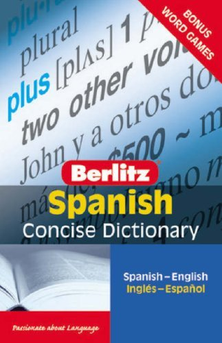 Berlitz Spanish Concise Dictionary 9789812680181
