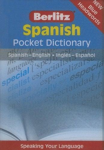 Berlitz Spanish Pocket Dictionary: Spanish-English/Ingles-Espanol
