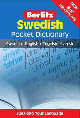 Berlitz Swedish Pocket Dictionary: Swedish-English/Engelsk-Svensk