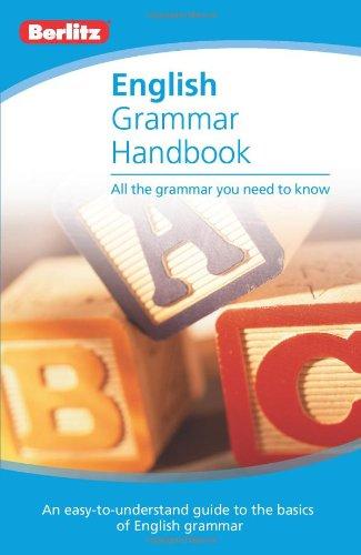 Berlitz English Grammar Handbook 9789812686848