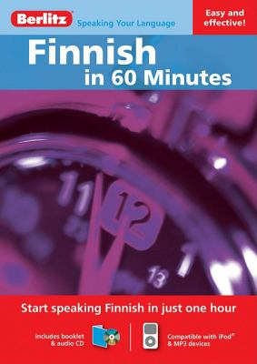 Finnish in 60 Minutes [With Booklet] 9789812686091