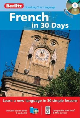 French in 30 Days [With Paperback Book] 9789812682192