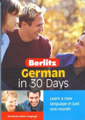 German in 30 Days [With Book] 9789812467362