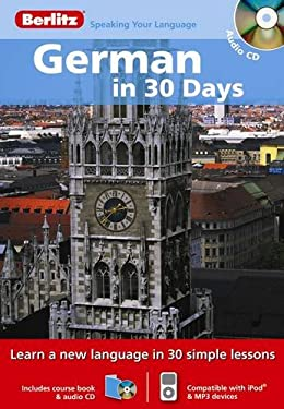 German in 30 Days [With Paperback Book] 9789812682208