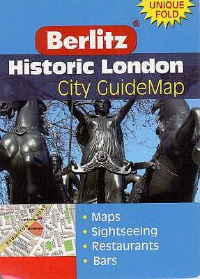 Historic London Berlitz Guidemap 9789812465443