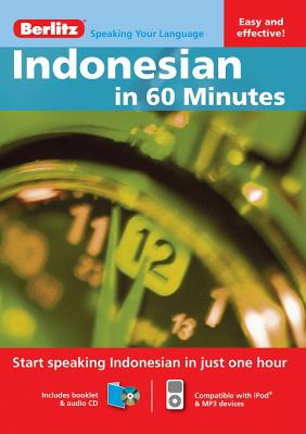 Indonesian in 60 Minutes [With Booklet]
