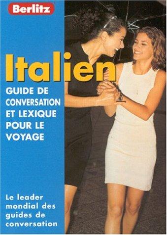 Italian Berlitz Phrase Book for French Speakers 9789812461384