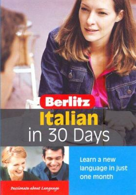 Italian in 30 Days [With Book] 9789812467355
