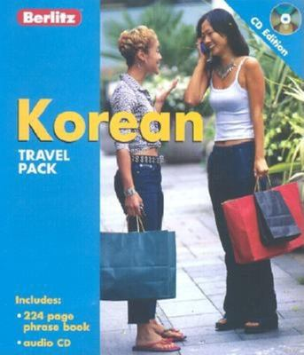 Korean Travel Pack [With Book] 9789812462008
