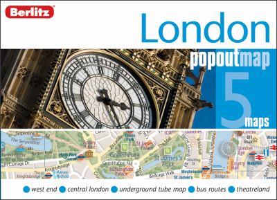London Berlitz PopOut Map (Double Map) 9789812687241