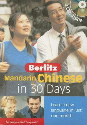 Mandarin Chinese in 30 Days [With Book] 9789812468475
