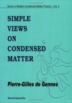 Simple Views on Condensed Matter 9789810209100
