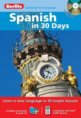 Spanish in 30 Days [With Paperback Book] 9789812682253