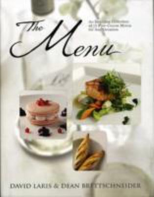 The Menu: An Inspiring Collection of 15 Five-Course Menus for Any Occasion 9789812616234
