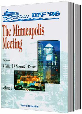 The Minneapolis Meeting Dpf 96 Set 9789810234614