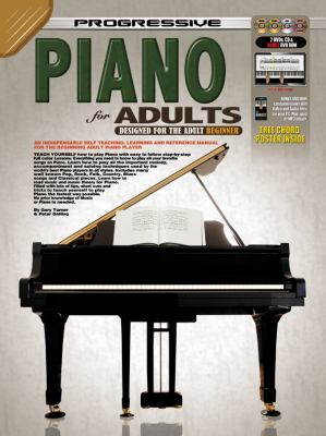 Progressive Piano for Adults Bk/CD/DVD 9789829118097