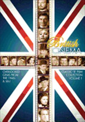 British Cinema: Classic 'b' Film Volume 1