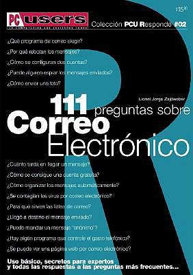 111 Preguntas Sobre Correo Electronico E Internet E-mail 9789875260047