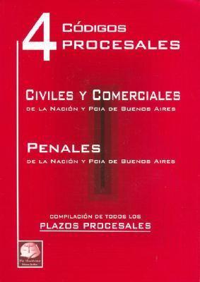 4 Codigos Procesales 9789872157616