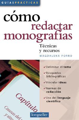 Como Redactar Monografias 9789875503090