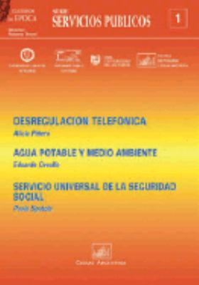 Desregulacion Telefonica 9789875072152