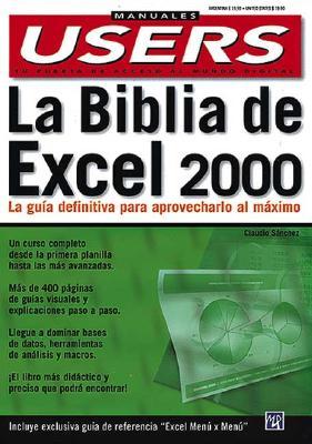 La Biblia de Excel 9789875260658