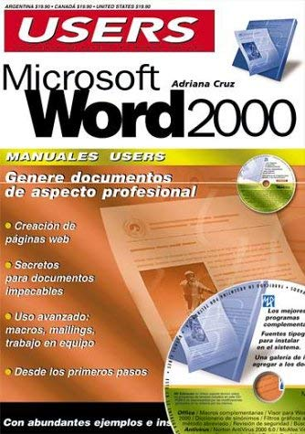 Manual de MS Word [With CDROM] 9789875260382