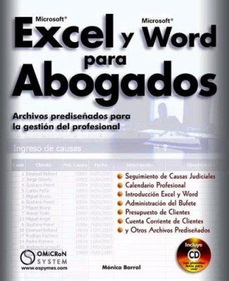 Microsoft Exel y Microsoft Word Para Abogado 9789871046089