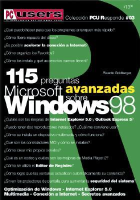 Microsoft Windows 98, 115 Preguntas Avanzadas Sobre 9789875260085