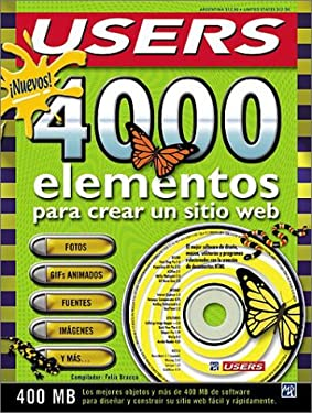 Nuevos 4000 Elementos Para Crear un Sitio Web [With CDROM] = 4000 New Elements for Creating a Web Sit 9789875260672