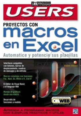 Proyectos Con Macros en Excel 9789875261174