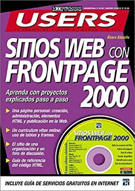 Sitios Web Con FrontPage 2000 [With CDROM] 9789875260689