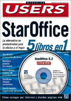 Staroffice 5 Libros En 1 [With CDROM] 9789875260863