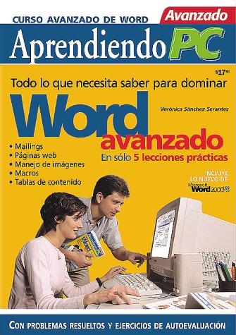 Word Avanzado: En Solo 5 Lecciones Practicas 9789875260122