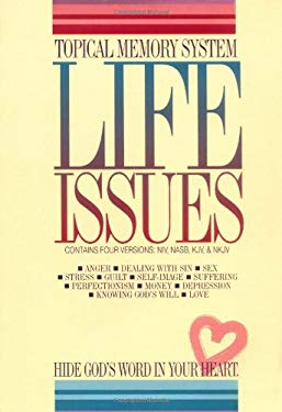 Topical Memory System Life Issues: Package Contains 4 Versions: NIV, NASB, KJV, and NKJV 9789900730866