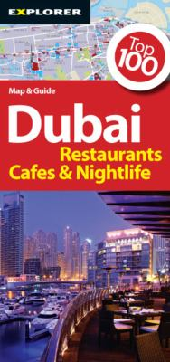 Dubai Map & Guide: Restaurants, Cafes & Nightlife 9789948157250