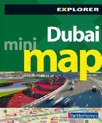 Dubai Mini Map, 3rd: The City in Your Pocket 9789948858935