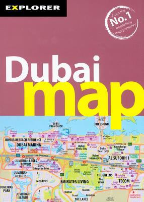 Explorer Dubai Map 9789948442226
