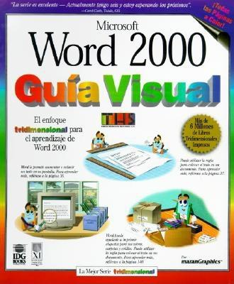 Word 2000 Guia Visual = Word 2000 Simplified 9789977540917