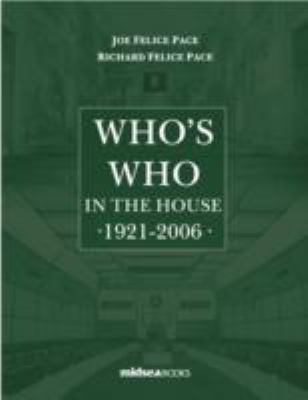 Who's Who in the House 1921-2006 9789993271154